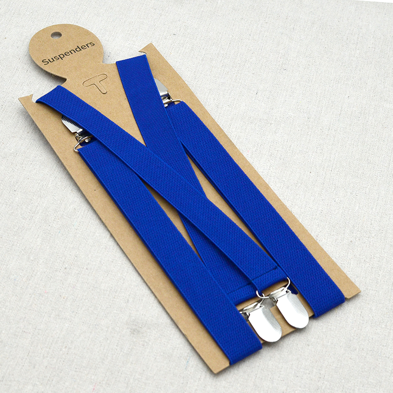High Elasticity Suspenders For Children Kids Boys Girls 's Suspenders Adjustment Length Brace For 5-12 Years Old
