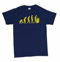 Print T Shirt Fashion Dj Evolution Club Rave Party Funny Printing T Shirts Men Short Sleeve