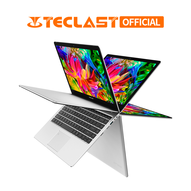 Teclast F6 Pro 360 Graus Laptop Windows 8 10 OS 13.3 polegada 1920x1080 GB RAM 128 GB SSD intel Core m3-7Y30 Notebook Dual Core