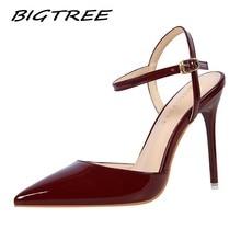 BIGTREE Women Pumps Shoes Woman High hee