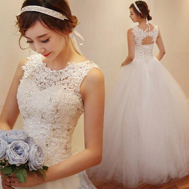 Fansmile 2020 Robe De Mariage Prinzessin Weiß Ballkleid Hochzeit Kleider Vestido De Noiva Plus Größe Custom Hochzeit Kleider FSM 023F