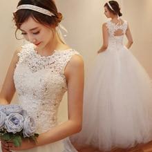 Fansmile 2020 Robe De Mariage נסיכה לבן כדור שמלת חתונת שמלות Vestido דה Noiva בתוספת גודל מותאם אישית חתונה שמלות FSM 023F