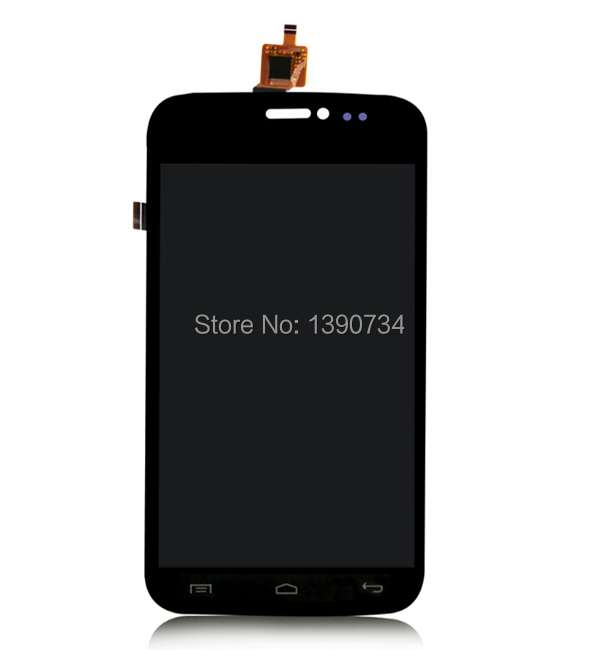 Best Quality Full LCD Display + Touch Screen Digitizer Assembly For Wiko Darkside Replacement Black original lcd for wiko ridge 4g lcd display with touch screen digitizer pantalla assembly replacement 5 inch black color