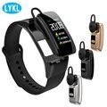 LYKL Smart Band B31 Bunte Bildschirm Wireless Blutdruck Herz Monitor Sport Smart Armband Bluetooth Headset Armband-in Intelligente Armbänder aus Verbraucherelektronik bei
