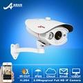 2.0 megapíxeles hd 1920x1080 p resolución de la red ip y cámara bala resistente a la intemperie al aire libre cámara de vigilancia de seguridad de vídeo motion