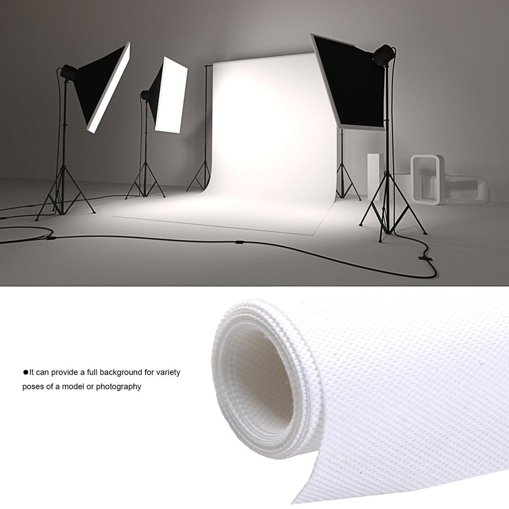 1 8 2 7M Professional Photo Lighting Studio Chromakey White Photo Backgrounds Screen Muslin Background Backdrop