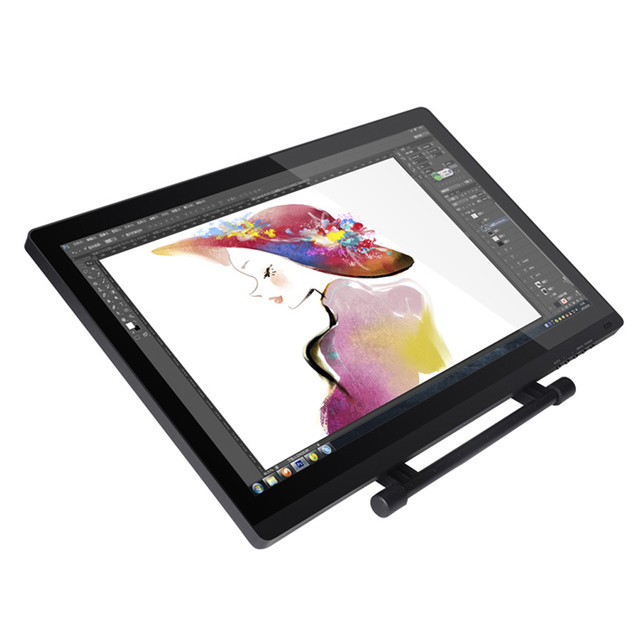UGEE UG-2150 21.5 inch IPS Screen P50S Pen Smart Graphics Tablet 5080 LPI HD Resolution For Windows 8/7/Vista /XP/Mac OS 10.2.6