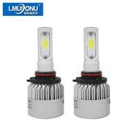 1 Pair 72W 8000lm H8 H9 H11 Cob Car Automotives Headlight Kit Bulb Led Fog Lamp