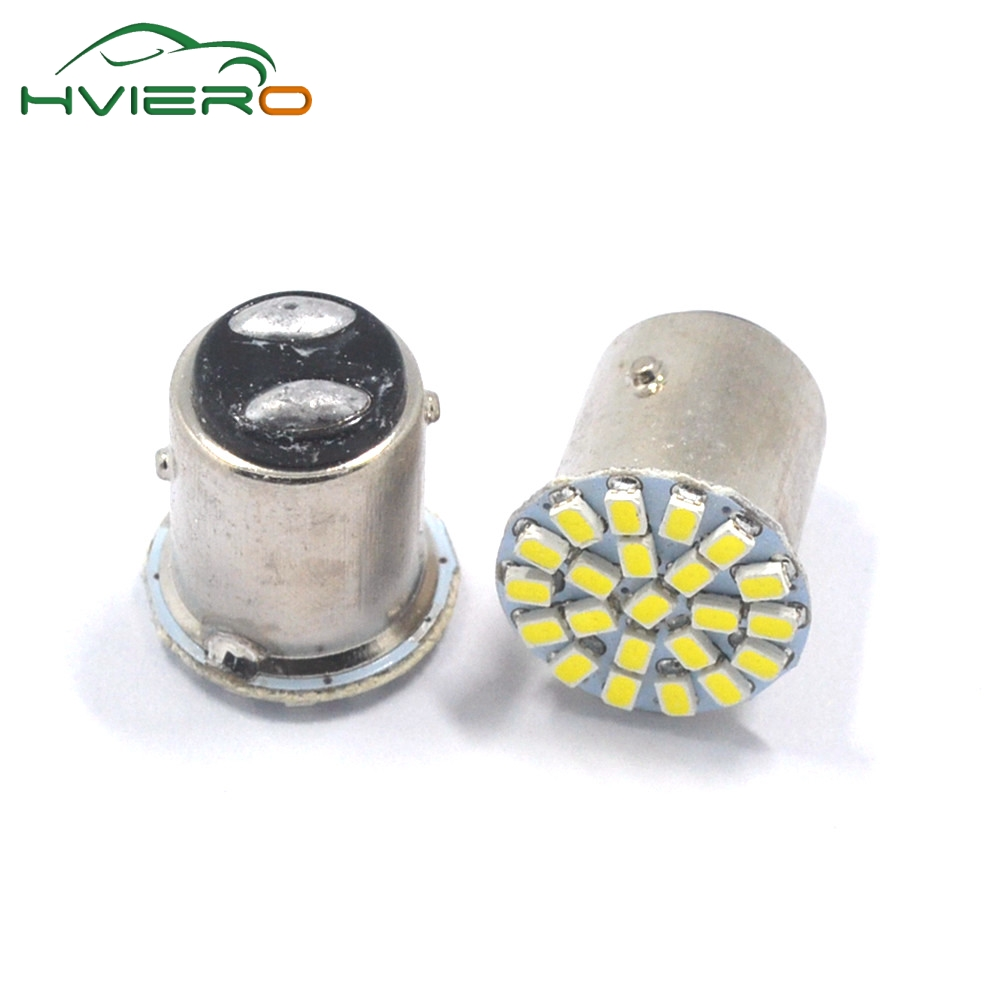 2Pcs 1157 BAY15D 1156 BA15S 1206 3020 22SMD White Brake Turn Light Auto mobile Wedge Lamp Tail Bulb Super Bright DC 12V Car Led 1pc 1156 ba15s 1206 22smd white led brake turn light auto mobile wedge lamp tail bulb super bright dc 12v csl2017