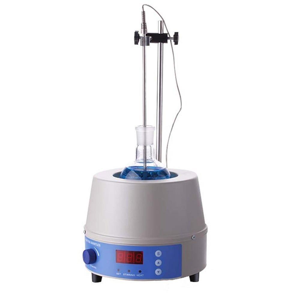 все цены на 1000ml laboratory Digital & Magnetic Stirring Heating Mantles with Support Stand and Temp Probe,0~1400rpm,350W,Max.450 degree онлайн