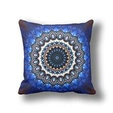 Marruecos IKathoME Azul Marino Suave Almohadas Fundas de cojines Cubierta Del Sofá Sofá Decorativa Throw Pillow Case 60,65×65 cm Todo tamaño QW501