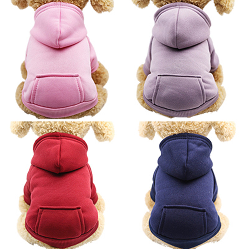 Warm Pet Clothing For Cat Clothes For Small Cats Clothing Pet Dog Cat Coat Cotton Jacket Clothes For Cat Vest Chihuahua Outfit 4