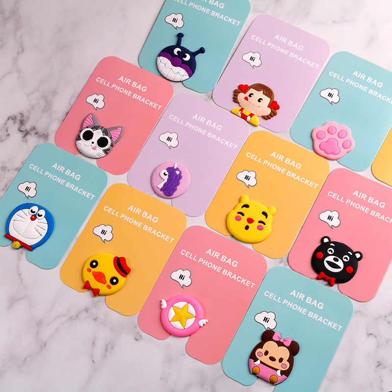 Wholesales 20pcs lot Air Bag lovely cat Phone Holder For iphone Xiaomi  Huawei Samsung Cat 90a0ae868196