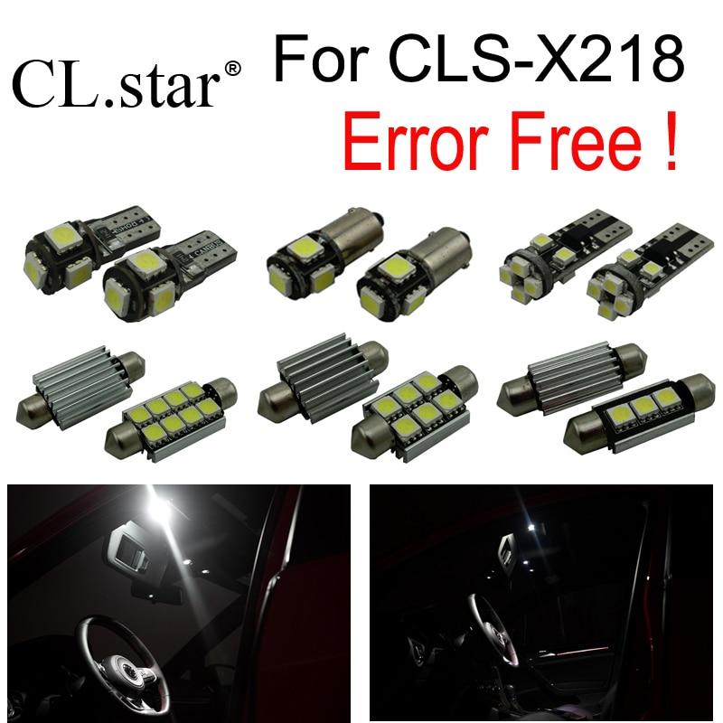 25pc LED interior dome Light kit for Mercedes Benz CLS C218 W218 CLS300 CLS250 CLS260 CLS350 CLS400 CLS500 CLS63 AMG (2011+) wiper blades for mercedes benz cls class coupe w219 26