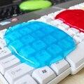 Feliz Home Office 1 PC Conveniente Teclado Lama Limpo