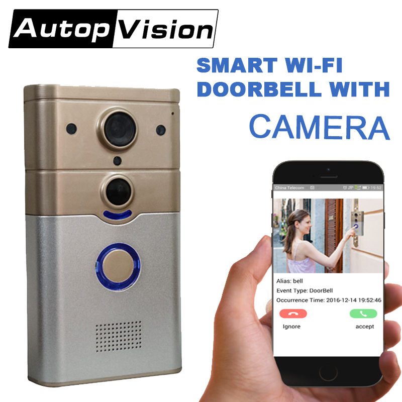 ZJ008 A 720P IP Doorbell WiFi bell Camera Video Remote control support smart door intercom ring video dooebell brand new car remote robot wifi camera support smart phone remote control wire charging automatic recharge ip secuirity camera