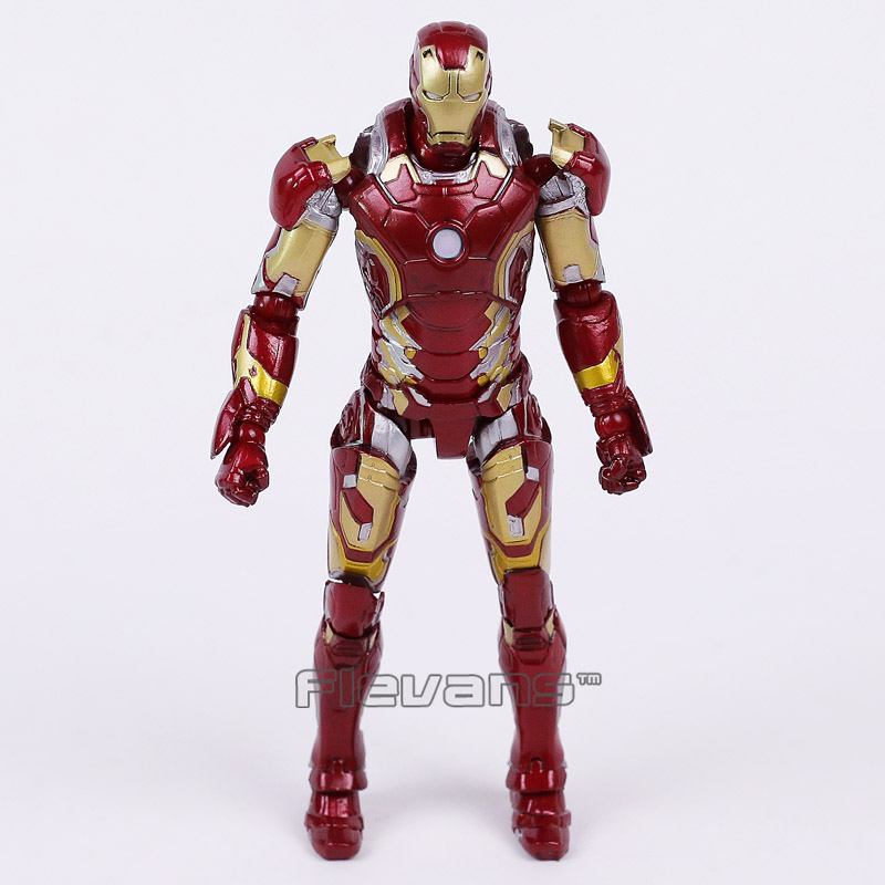 Crazy Toys Iron Man Mark XLIII MK 43 1/12 th Scale Collectible Figure man kung mk cb50