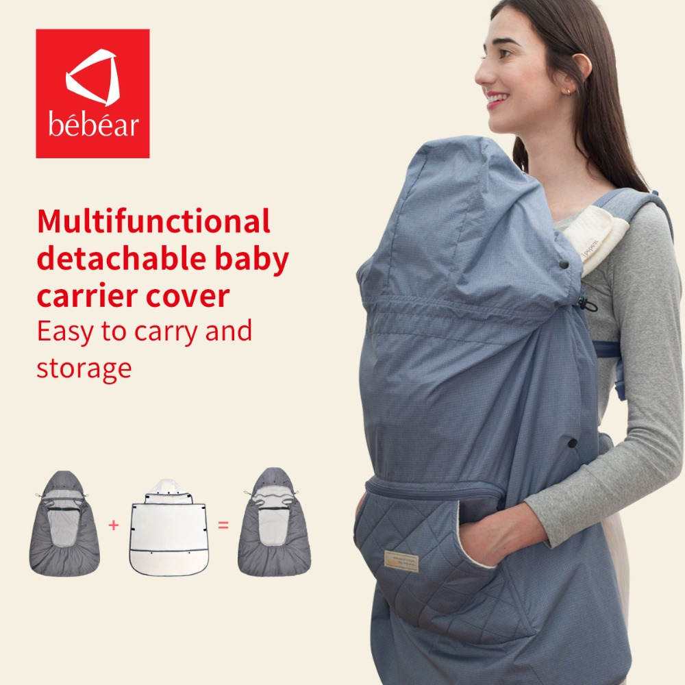 Bebear multi-function cover Warm Velvet Cloak baby carrier cover and baby stroller cover Winter Cover cover co168 04 cover