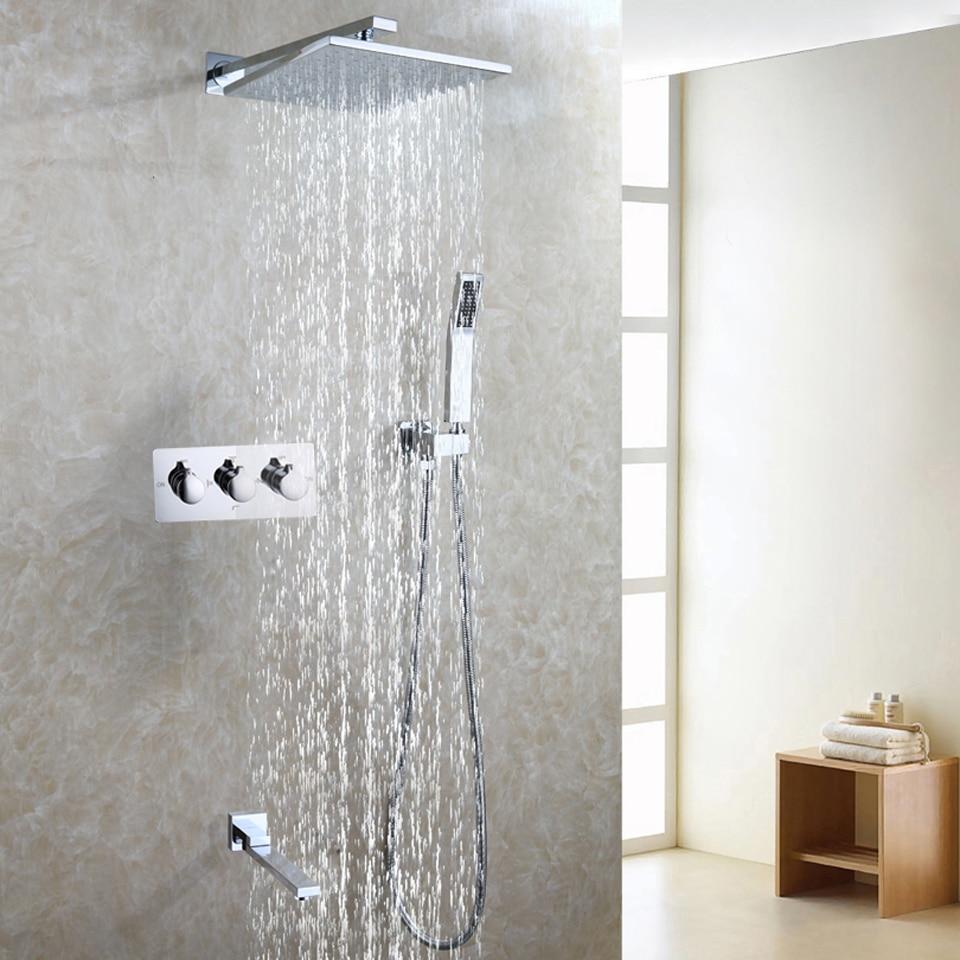 Air Drop Water Saving Bathroom Shower Faucet Set Easy Installation ...