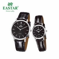 Eastar Lover Watches Round Business Watch Men Women Ladies Watch Quartz Wristwatches Japan Movement Stainless Steel Couple Watch