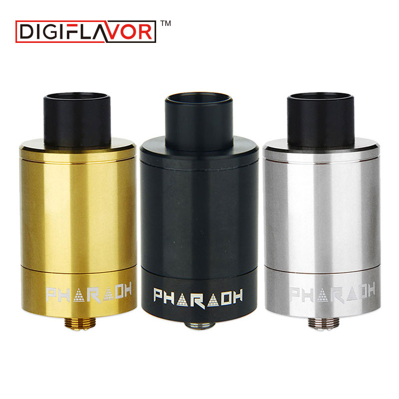 Original Digiflavor Pharaoh 25 RDA Vape 2ml Capacity Tank Rebuildable Dripper Atomizer VS RDTA Function for Huge Clouds Vapor-in Electronic Cigarette Atomizers from Consumer Electronics    1