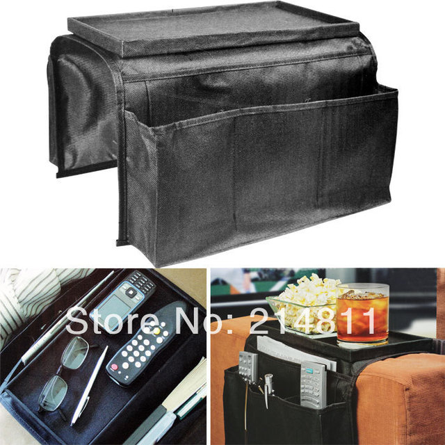 Bling Recommand Top.1 Seller Free Shipping 6 Pocket Sofa, Couch, Arm Rest Organizer+Remote Control Holder Storage Bag