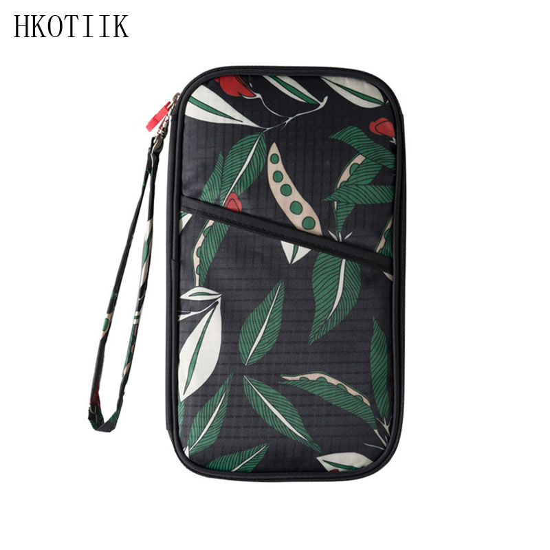 HKOTIIK Fashion Passport Cover Cover Multifunctional Credit Card Card Holder Organizer Travel Need Lady ID Cardholder