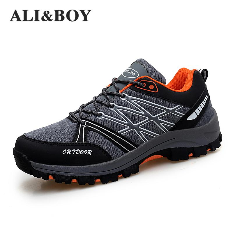 2018 Outdoor Sport Shoes Men Sneakers Men Shoes Running Shoes For Men Brand Anti-skid Off-road Jogging Walking Trainers Male
