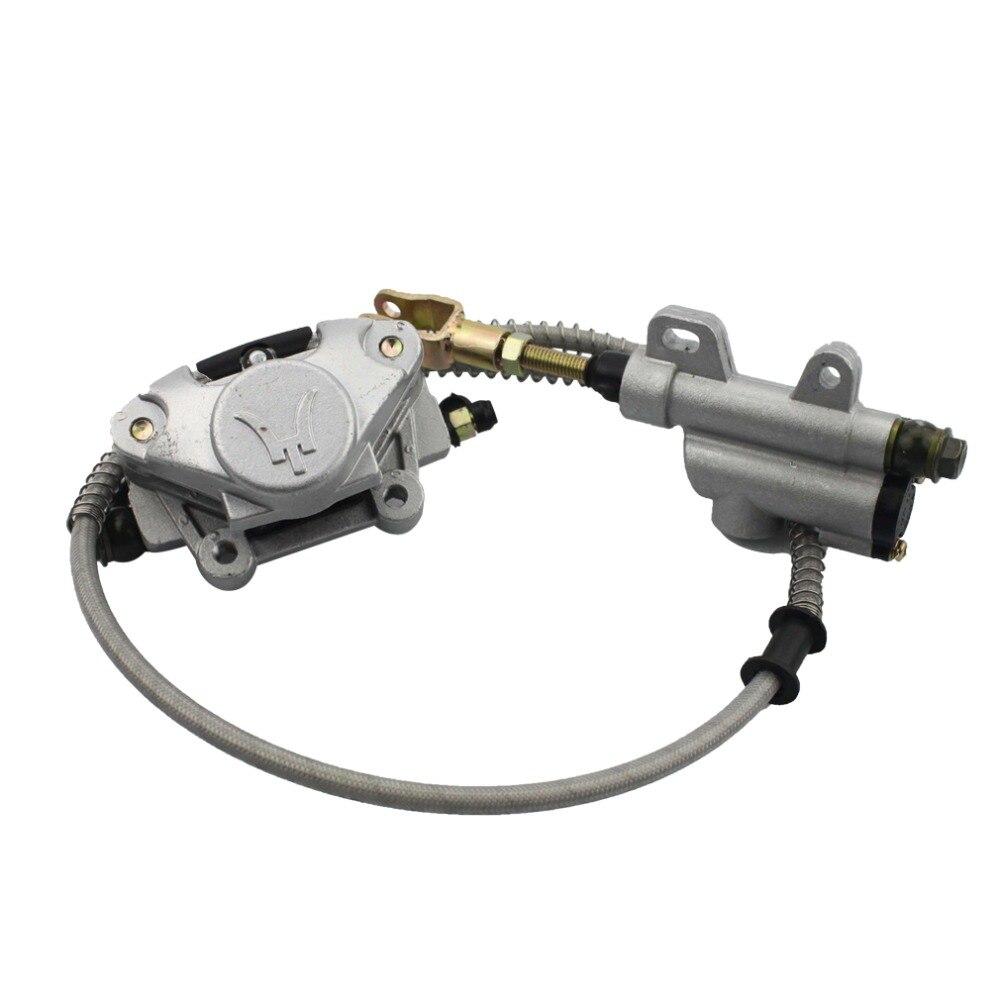 GOOFIT Rear Disc Brake Assy without Oiler for 110cc-250cc ATV C029-048 goofit right upper disc brake pump for 50cc 250cc atv