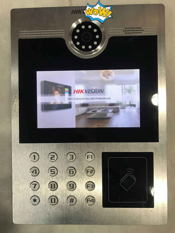 Detail Feedback Questions about Hik Access Control DS KD8402