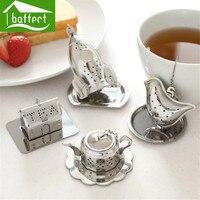 Tea Leaf Strainer Stainless Steel Reuseable Tea Bag Ball Stick Loose Herbal Spice Infuser Filter Tea