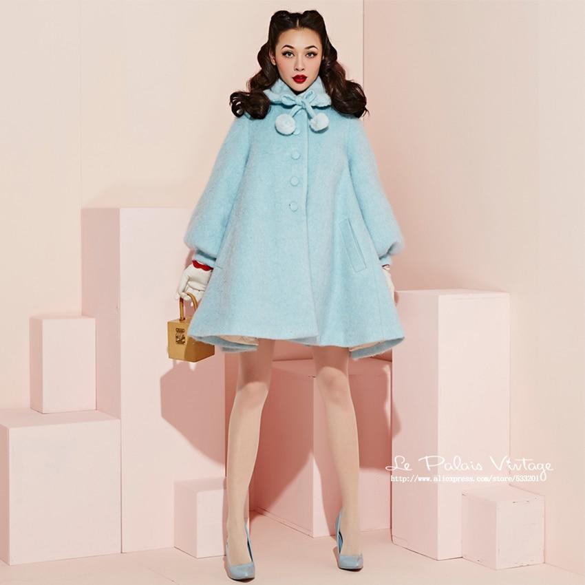 Popular Light Blue Wool Coat-Buy Cheap Light Blue Wool Coat lots ...