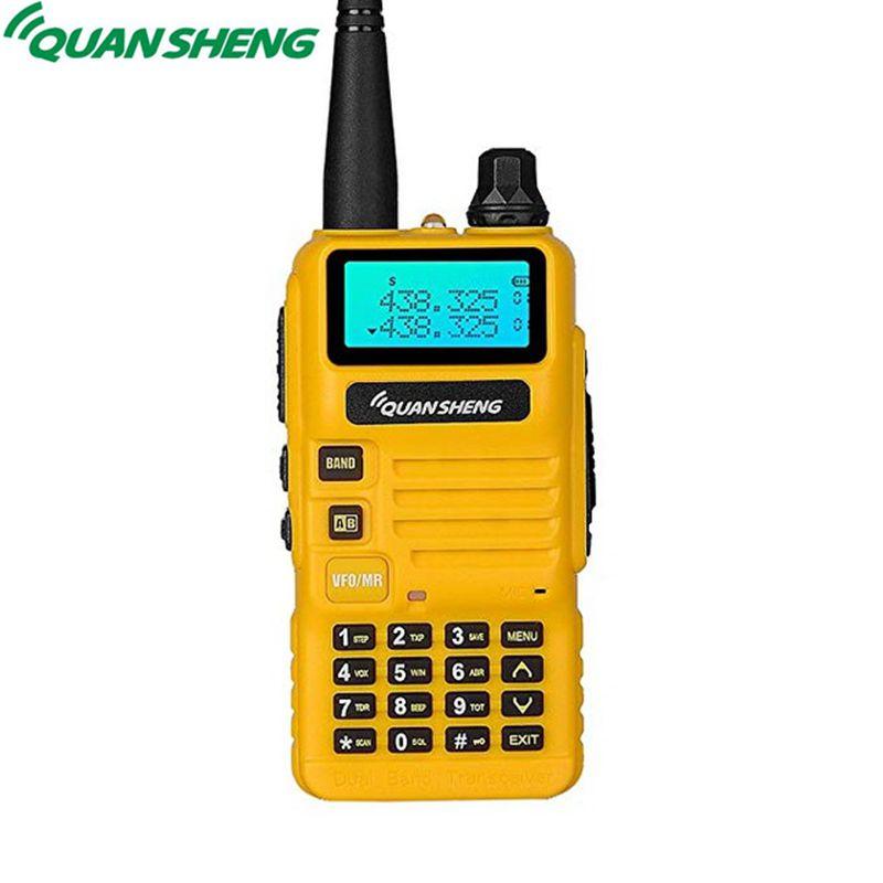 Quansheng UV-R50 Talkie Walkie VHF UHF Double Bande Longue Portée UVR50 Communicateur Portable Two Way Radio UV R50 5 w FM Émetteur-Récepteur