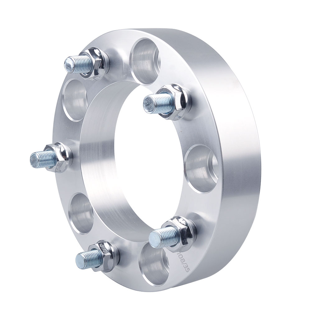 Teeze-(1PC) 5x5.5'' Wheel Spacers Pneus De Carro 5x139.7 Spacer For Sorento Jimny Auto Accessoris Aluminum Wheel Adapters