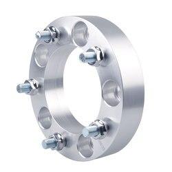 Teeze-(2 PC) 5 × 5.5 'ホイールスペーサー pneus ドカルロ 5 × 139.7 ソレントジムニー自動 accessoris 用アルミホイールアダプタ