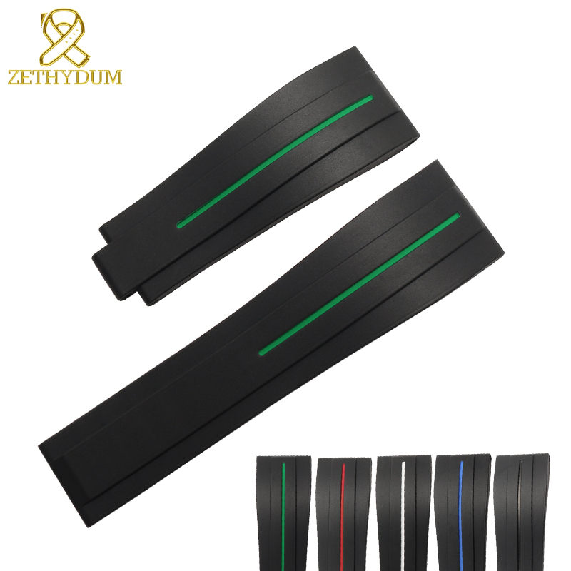 silicone rubber bracelet black watch strap wristband sport watche band 20mm 21mm watchband for mens watches wristwatches silicone rubber bracelet black watch strap wristband sport watche band 20mm 21mm watchband for mens watches wristwatches