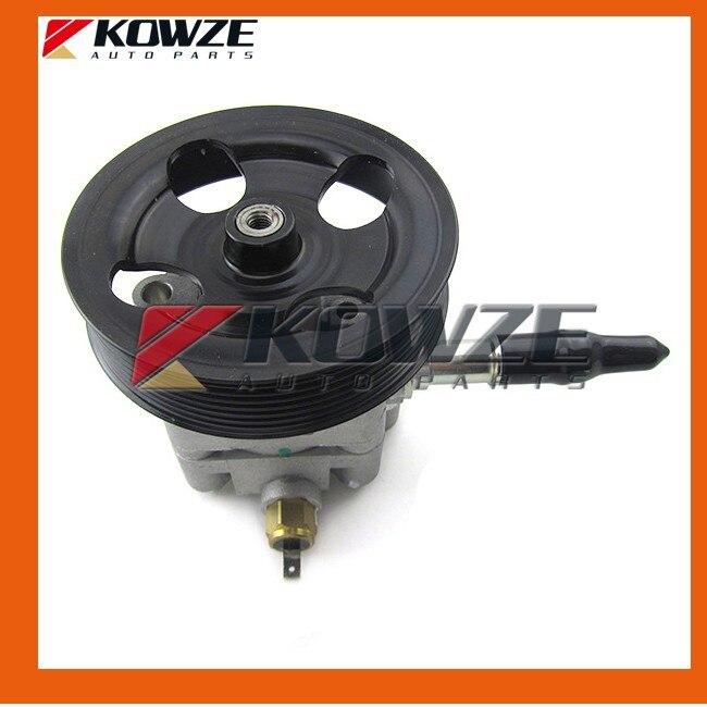 RE-NEWED Power Steering Oil Pump For Mitsubishi Pajero Sport Montero Challenger Nativa 6G72 6G74 2005- MR995026