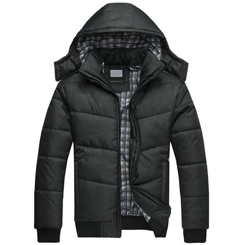 2017 Neue Männer Mit Kapuze Winter Jacke Warm Halten Mantel Outwear Male Parka Größe M-3xl Ayg346 Um Das KöRpergewicht Zu Reduzieren Und Das Leben Zu VerläNgern