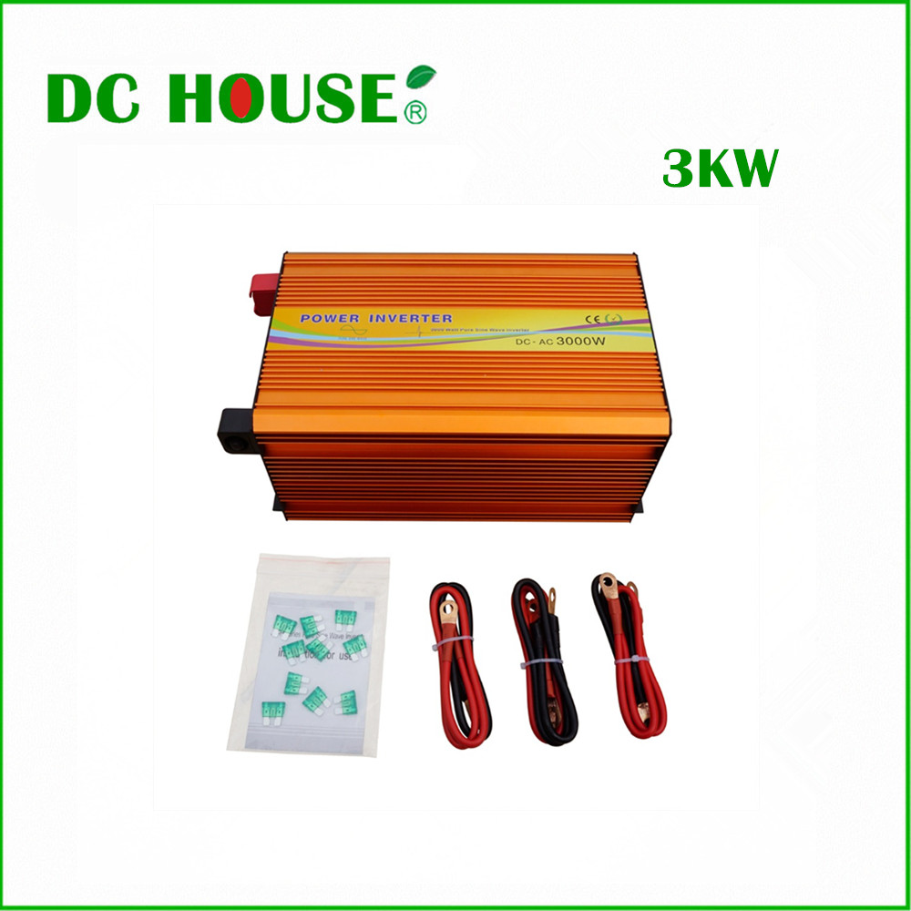 3KW 3000W 12V off Grid Inverter Converter 220V output electricity supply панель декоративная awenta pet100 д вентилятора kw сатин