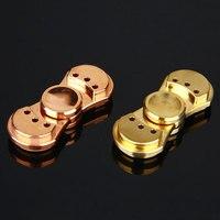 Fidget Spinner EDC Hand Spinner Toy Finger Spin Brass Made Focus Toy Spinning Stress Relief Desk