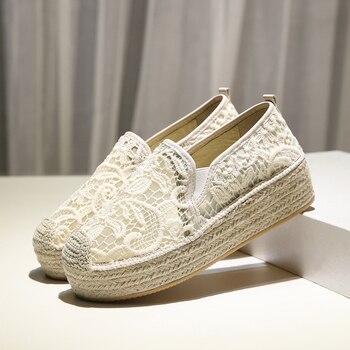 New sapatillas de mujer 2019 platform shoes women scarpe donna chaussures femme espadrilles women