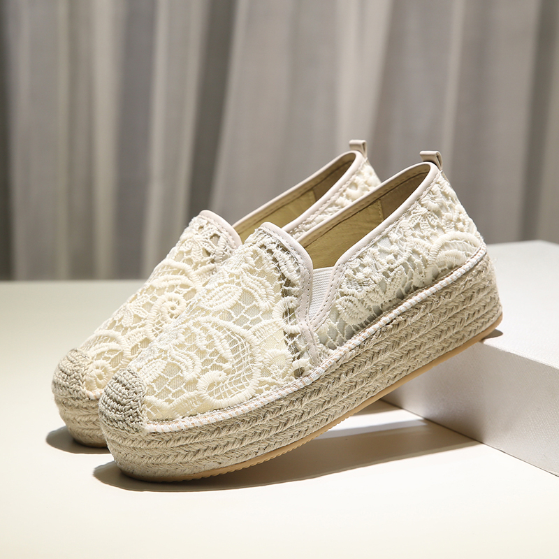 Nouvelles chaussures à plate-forme sapatillas de mujer 2019 femmes scarpe donna chaussures femme espadrilles femmes