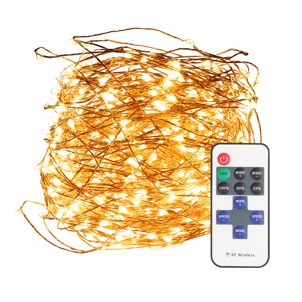 50M 500led Copper Led String Light+12V5A power adapter EU/US+11Key IR Remote Controller Waterproof Fairy Outdoor Xmas Decoration источник питания для led led 12v5a