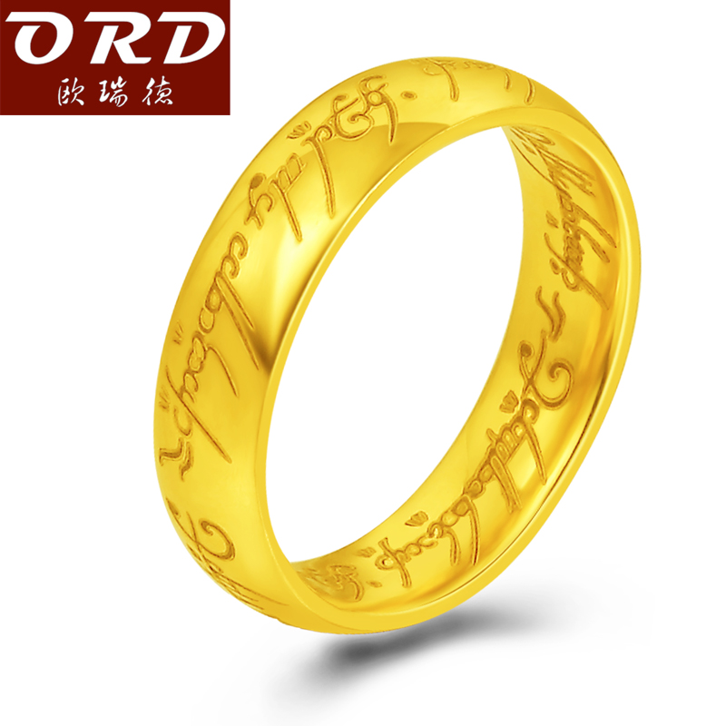 aliexpress buy lord of the rings 999 gold ring