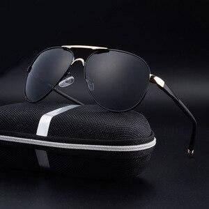 Image 3 - SAYLAYO HD Polarized Sunglasses Men Vintage New Male Cool Driving Sun Glasses Eyewear UV400 Protection Shades for Women