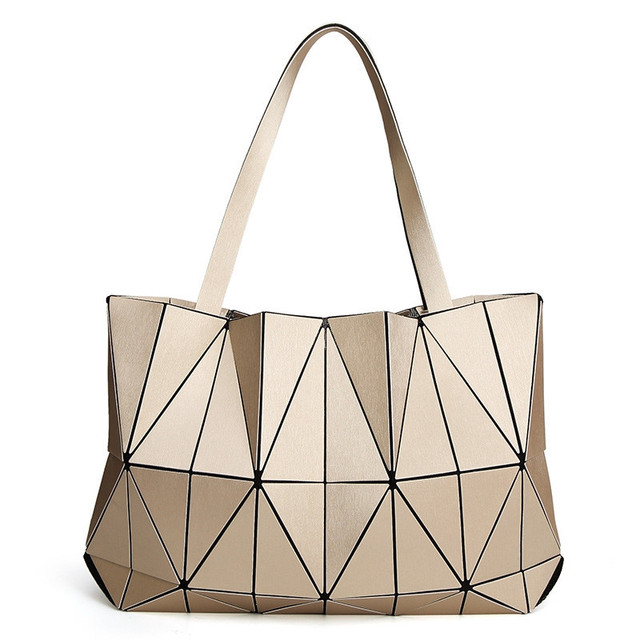 753c9c65ab56 Japan Brand BAO New Matte Triangle Laser Women Shoulder Bags Female Totes  Diamond Geometry Ladies Handbags Female Tote With Logo-in Shoulder Bags  from ...