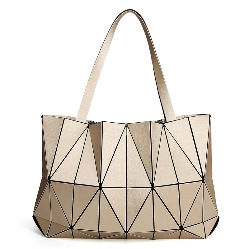 Japan Brand New Matte Triangle Laser Women Shoulder Bags Female Totes Diamond Geometry Ladies Handbags Female Tote With LogoJapan Brand New Matte Triangle Laser Women Shoulder Bags Female Totes Diamond Geometry Ladies Handbags Female Tote With Logo