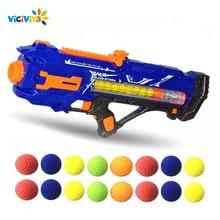 Viciviya 100 шт Высокое качество шариковые пули для Rival Zeus Apollo Nerf игрушечный пистолет мягкий круглый Дартс для Nerf Rivals пистолет лучший подарок