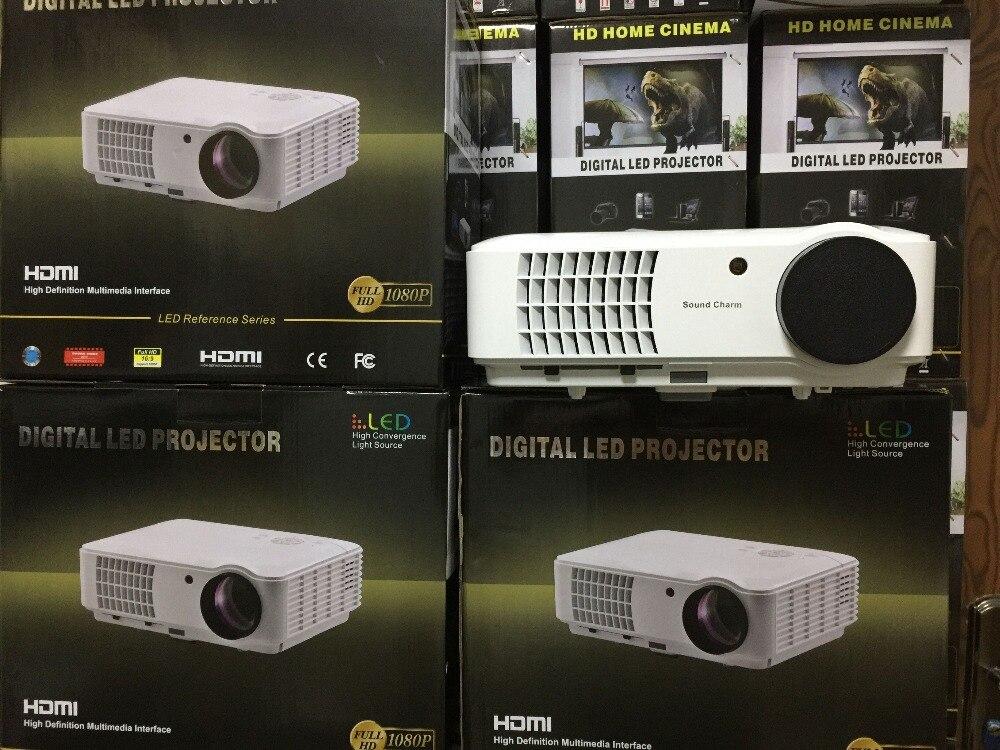 Zvuk zvuka Najveći LED svjetlovodni projektor Full HD LED, projektor - Kućni audio i video - Foto 4