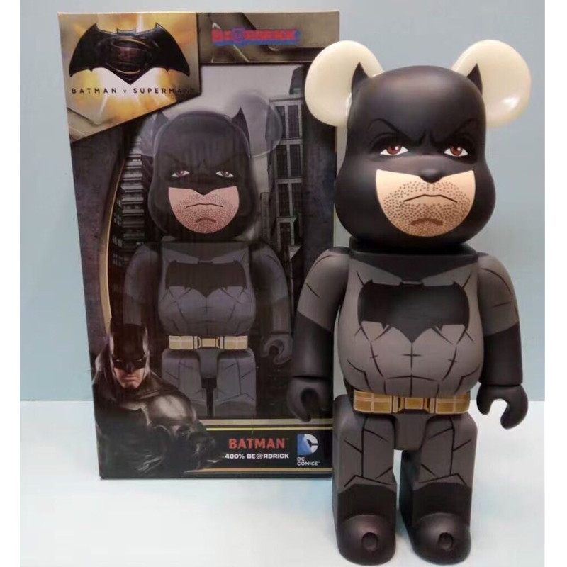 Batman Bearbrick Action Figure 400% Be@rbrick Cos Batman Doll PVC ACGN figure Toy Brinquedos Anime 28CM DE202 new hot christmas gift 21inch 52cm bearbrick be rbrick fashion toy pvc action figure collectible model toy decoration